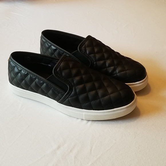 Guess Black Slip On Fashion Sneakers